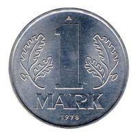 DDR 1978 J.1514 1 Mark Kursmünze st