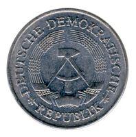DDR 1975 J.1514 1 Mark Kursmünze vz