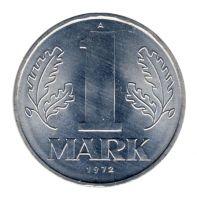 DDR 1972 J.1514 1 Mark Kursmünze st