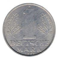 DDR 1963 J.1513 1 Mark Kursmünze vz-st