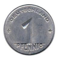 DDR 1949 J.1501 1 Pf Kursmünze Prägestätte: E vz