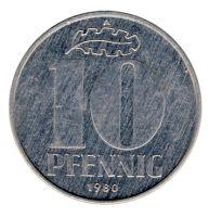 DDR 1980 J.1510 10 Pf Kursmünze vz