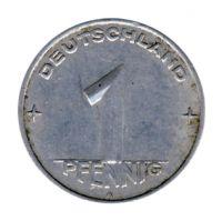 DDR 1953 J.1505 1 Pf Kursmünze Prägestätte: A ss