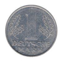 DDR 1962 J.1513 1 Mark Kursmünze vz-st