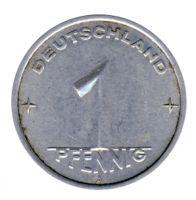 DDR 1952 J.1505 1 Pf Kursmünze Prägestätte: A ss