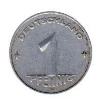 DDR 1952 J.1505 1 Pf Kursmünze Prägestätte: E ss