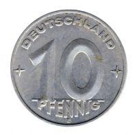 DDR 1953 J.1507 10 Pf Kursmünze Prägestätte: E vz