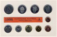 BRD 1998 Kursmünzensatz Prägestätte: A st