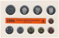 BRD 1996 Kursmünzensatz Prägestätte: A st