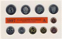 BRD 1997 Kursmünzensatz Prägestätte: A st
