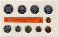 BRD 1999 Kursmünzensatz Prägestätte: A st