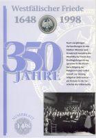 BRD 1998 Numisblatt 1/1998
