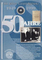 BRD 1999 Numisblatt 1/1999