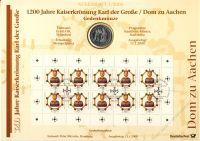 BRD 2000 Numisblatt 1/2000