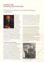 BRD 2000 Beschreibung für Numisblatt 3/2000 und 4/2000