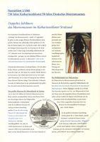 BRD 2001 Beschreibung für Numisblatt 2/2001 und 3/2001