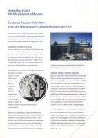 BRD 2003 Beschreibung für Numisblatt 1/2003 und 2/2003