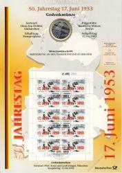 BRD 2003 Numisblatt 3/2003