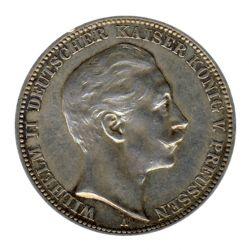 Preussen 1911 A J.103 3 Mark Wilhelm II. (1888-1918) ss