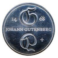DDR 1968 J.1523 10 Mark Johannes Gutenberg st