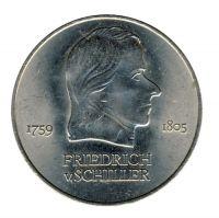 DDR 1972 J.1537 20 Mark Friedrich von Schiller vz