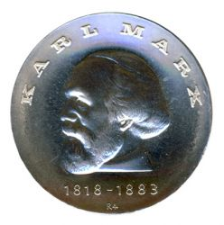 DDR 1968 J.1521 20 Mark Karl Marx st