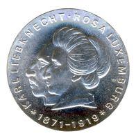 DDR 1971 J.1533 20 Mark Luxemburg und Liebknecht st