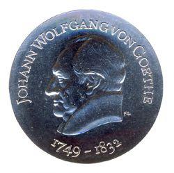 DDR 1969 J.1525 20 Mark Johann Wolfgang von Goethe st