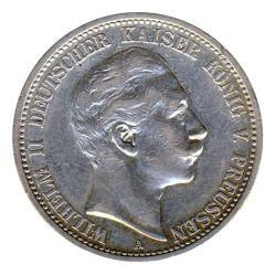 Preussen 1904 A J.102 2 Mark Wilhelm II. (1888-1918) ss