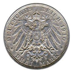 Bayern 1910 D J.47 3 Mark Otto (1886-1913) vz-st