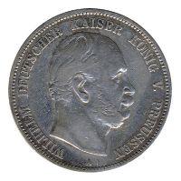 Preussen 1876 A J.97 5 Mark Wilhelm I. (1861-1888) ss