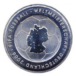 BRD 2003 J.499 10 Euro Fußball-WM-Deutschland 2006 Prägestätte: J st
