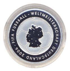 BRD 2003 J.499 10 Euro Fußball-WM-Deutschland 2006 Prägestätte: G PP