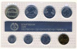 DDR 1987 Kursmünzensatz st (Export)