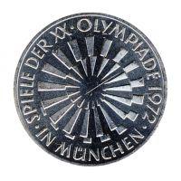 BRD 1972 J.401b 10 DM Olympische Spiele - Prägestätte: J vz-st