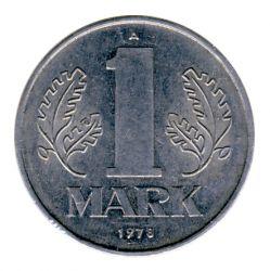 DDR 1978 J.1514 1 Mark Kursmünze vz