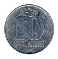 DDR 1983 J.1510 10 Pf Kursmünze ss