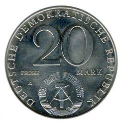 DDR 1979 J.1573P 20 Mark Probe - 30 Jahre DDR - Blattprobe st
