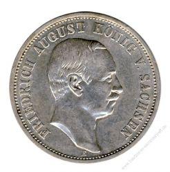 Sachsen 1910 E J.135 3 Mark Friedrich August III. (1904-1918) ss