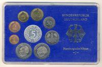 BRD 1974 Kursmünzensatz Prägestätte: J PP