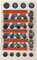 BRD 1997 Kursmünzensatz Prägestätte: A-J st