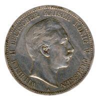 Preussen 1908 A J.104 5 Mark Wilhelm II. (1888-1918) ss