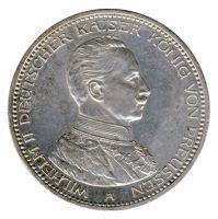 Preussen 1914 A J.114 5 Mark Wilhelm II. in Uniform (1888-1918) vz-st
