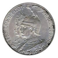 Preussen 1901 J.106 5 Mark 200 Jahre Königreich vz-st