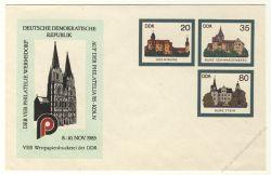 DDR Nr. U02/003a * Kölner Dom PHILATELIA '85