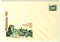 DDR Nr. PU017 D2/001d * Philatelia '90 Reichstagsgebäude
