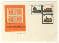 DDR Nr. U01/002a * PHILATELIA 1984 Stuttgart
