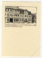 DDR Nr. PP008 D2/007a * Briefmarkenausstellung Eisenach 1967