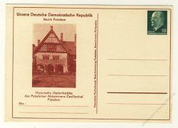 DDR Nr. PP009 B2/024 * Cecilienhof Potsdam
