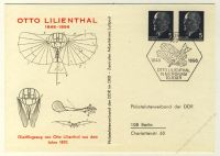DDR Nr. PP012 B1/001 SSt. Otto Lilienthal